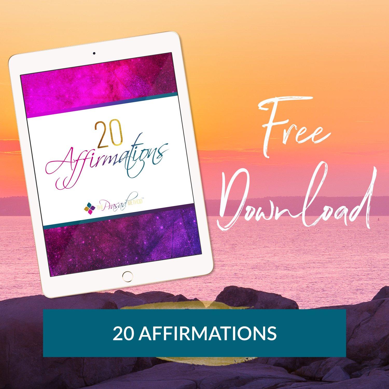 20 affirmations dr asha prasad