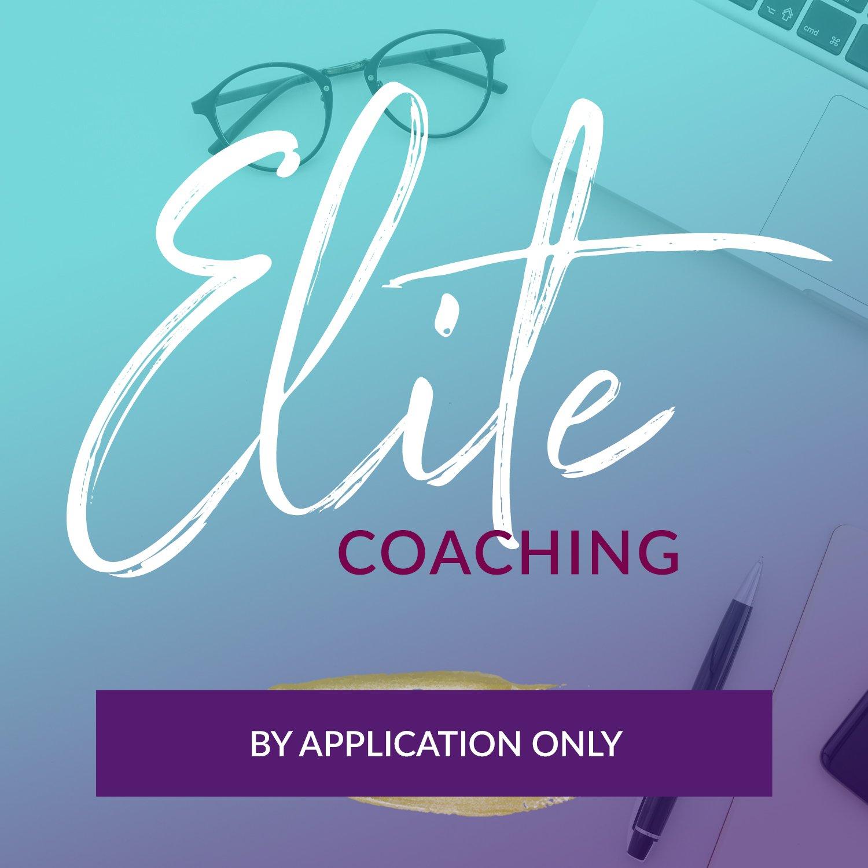 Dr. Asha Prasad one on one elite coaching package