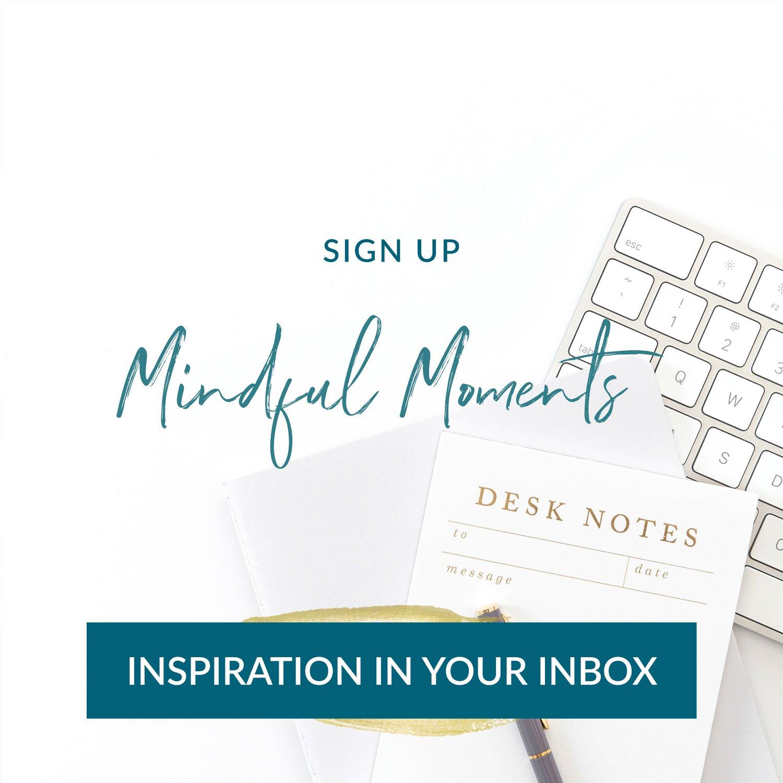 Dr. Asha Prasad Mindful Moments Email LIst